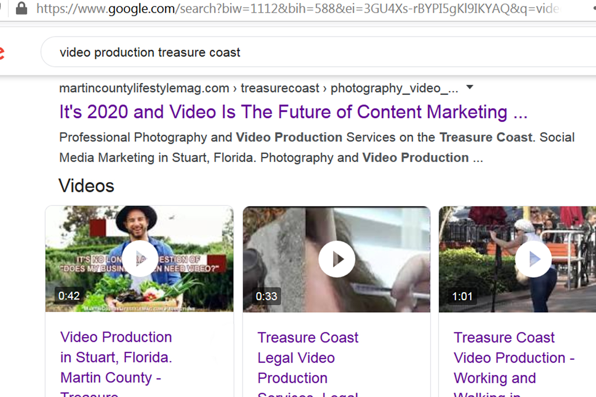 Search Engine Optimization. MCLM Media Pro - Martin County Lifestyle Magazine Photography and Video Production on the Treasure Coast. Social Media Marketing in Stuart, Florida. Multimedia Production for your business online marketing