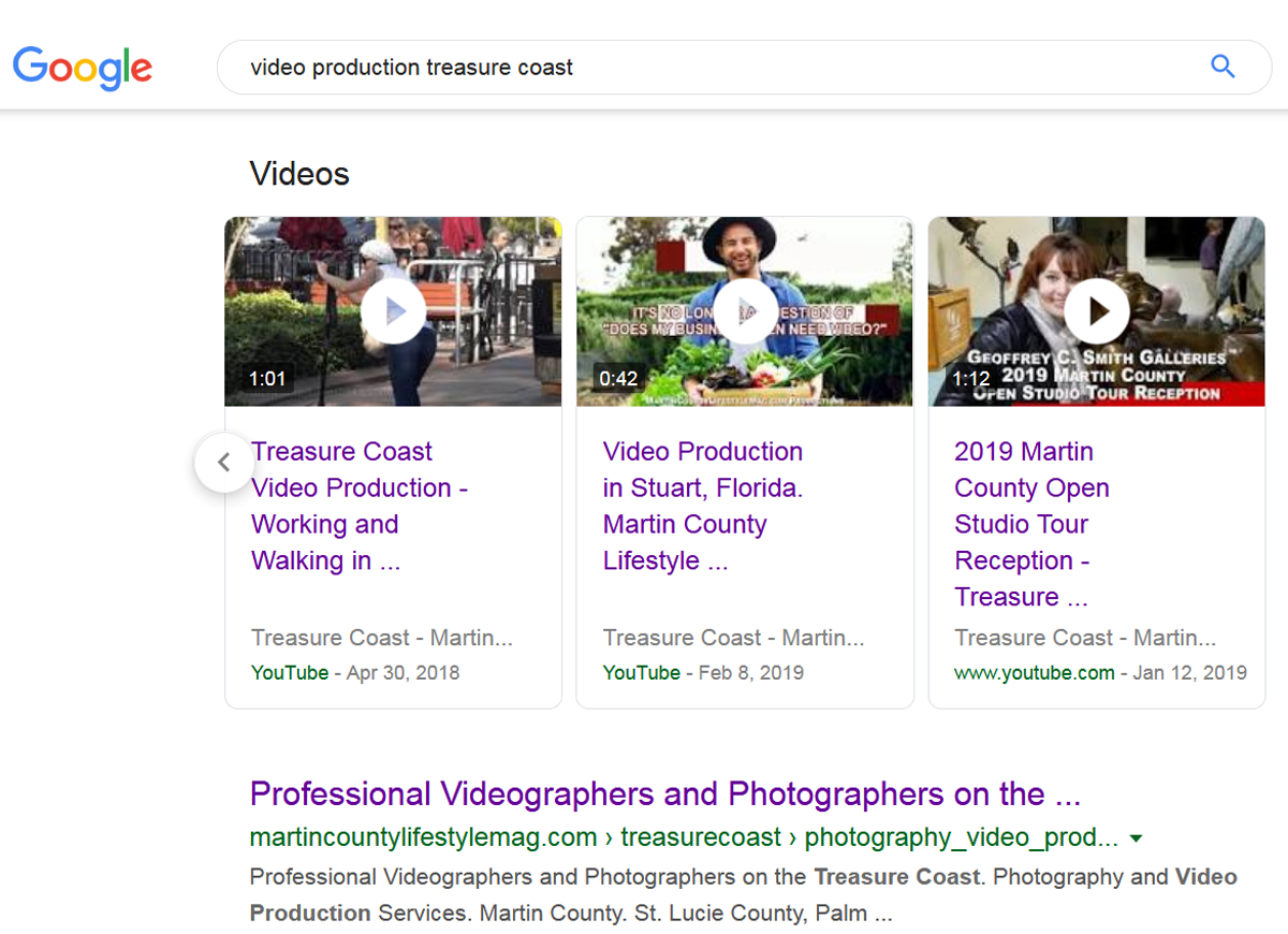 Video Production and Social Media Marketing on the Treasure Coast, MCLM Media Pro - Martin County Lifestyle Magazine