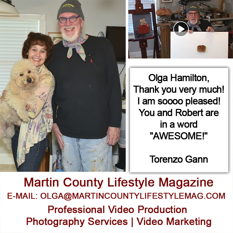 Torenzo Gann, Martin County Artist, MCLM Media Pro Video Production, Social Media Marketing on the Treasure Coast