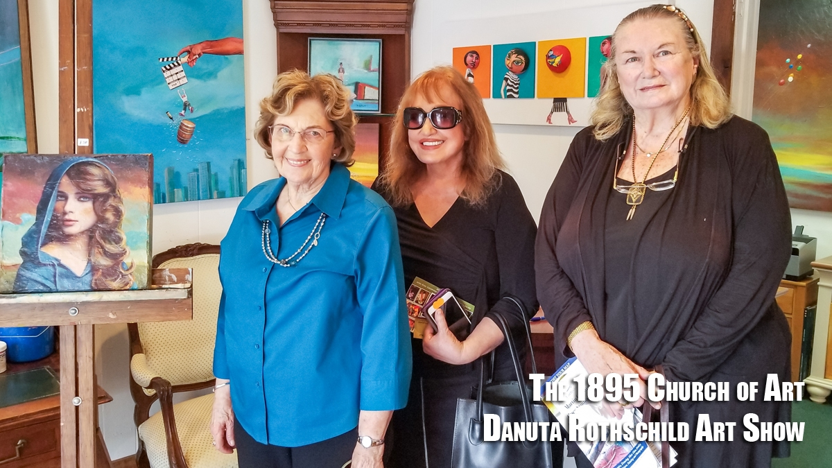 Danuta Rothschild Art Show at The 1895 Church of Art Gallery