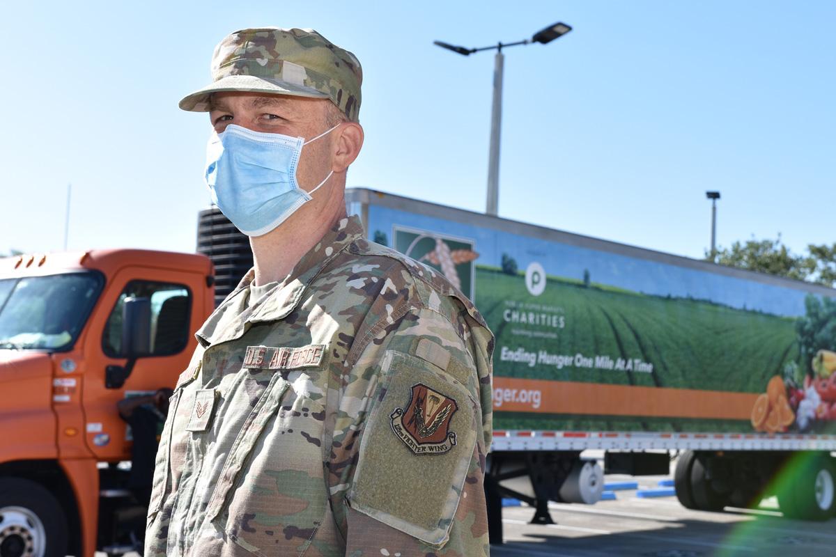 National Guard Ending Hunger Treasure Coast Food Bank