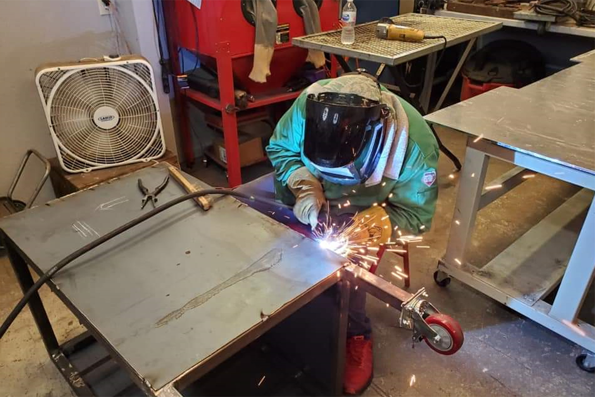 Youth at Project LIFT continue to learn skilled trades during COVID-19