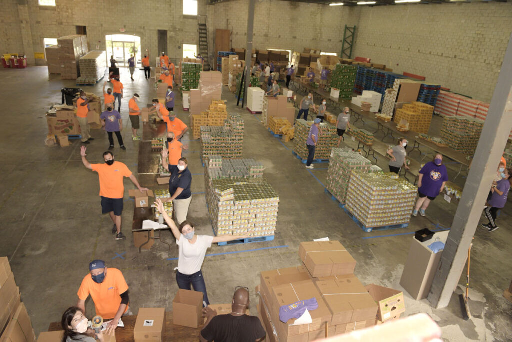 TC Food Bank opens doors to new storage facility with kickoff of Pack the House