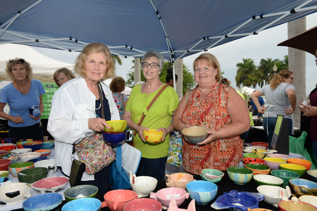 Treasure Coat Food Bank Annual Empty Bowls. MCLM Media Po Digital Marketing inStart, Florida
