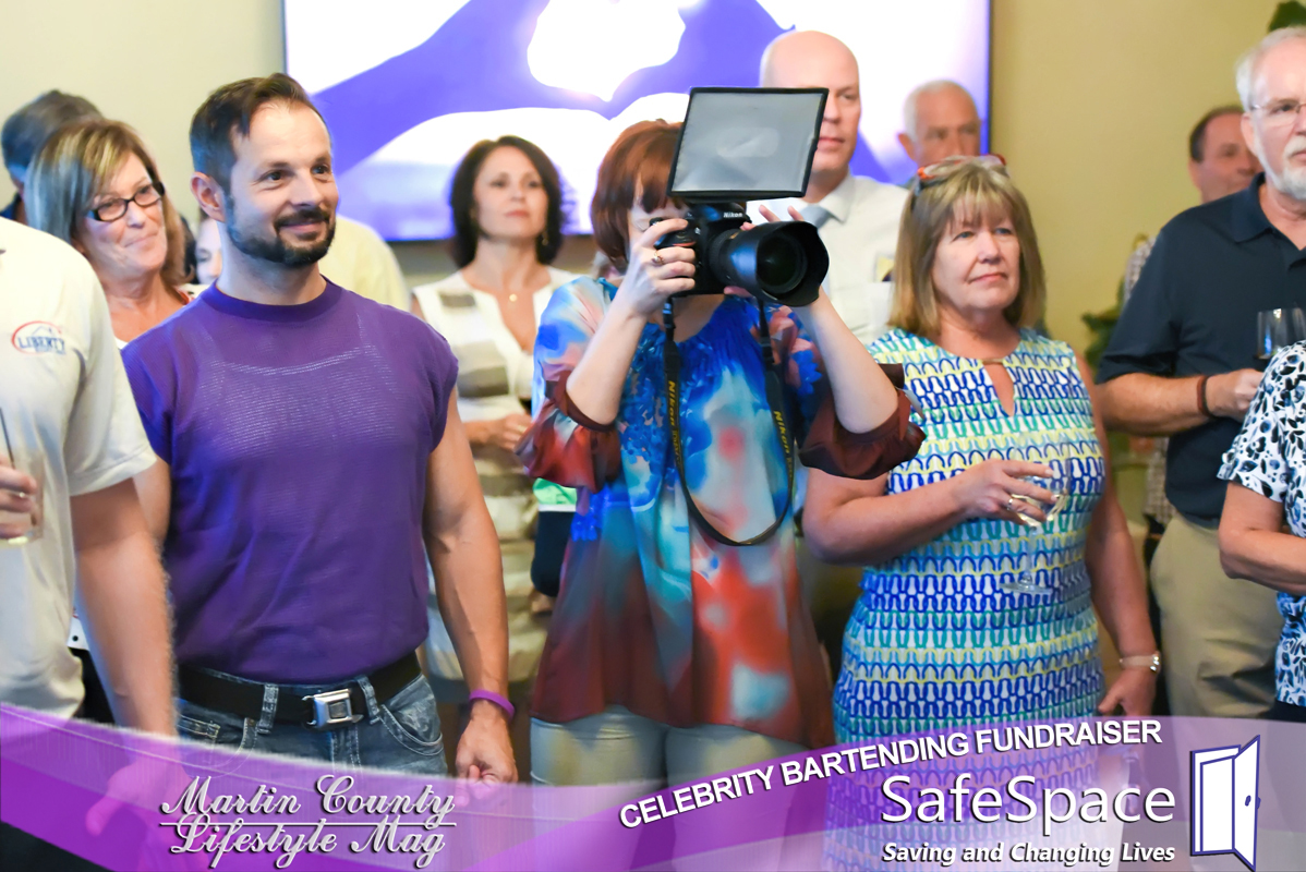 SafeSpace Fundraiser. MCLM Media Pro Digital Marketing in Stuart, Florida. Social Media Content Creators and Managers. Photography and Video Production on the Treasure Coast.
